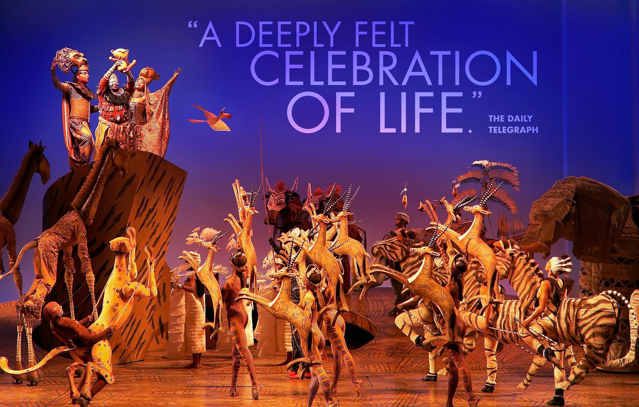 Lion King Broadway Circle Of Life