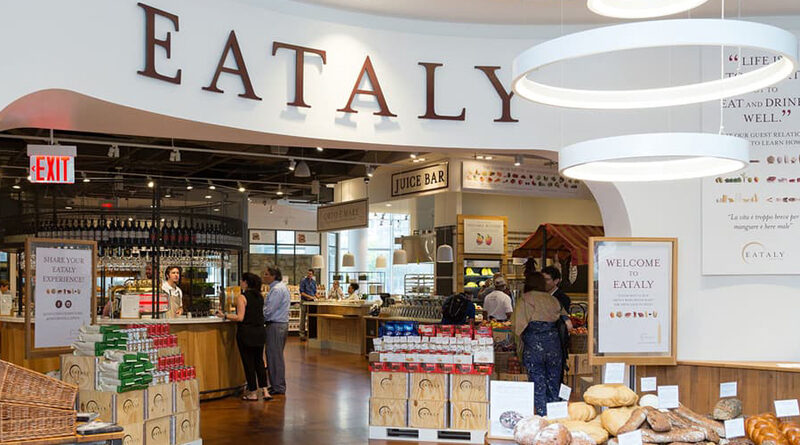 Grand Opening Eataly Downtown New