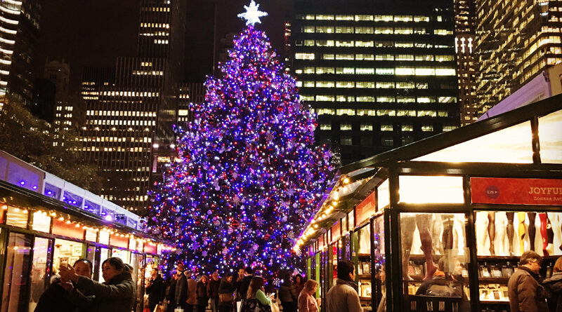 Bryant Park Christmas Tree Lighting 2020 Winter Village at Bryant Park: Days, Hours and Events – New Yorker