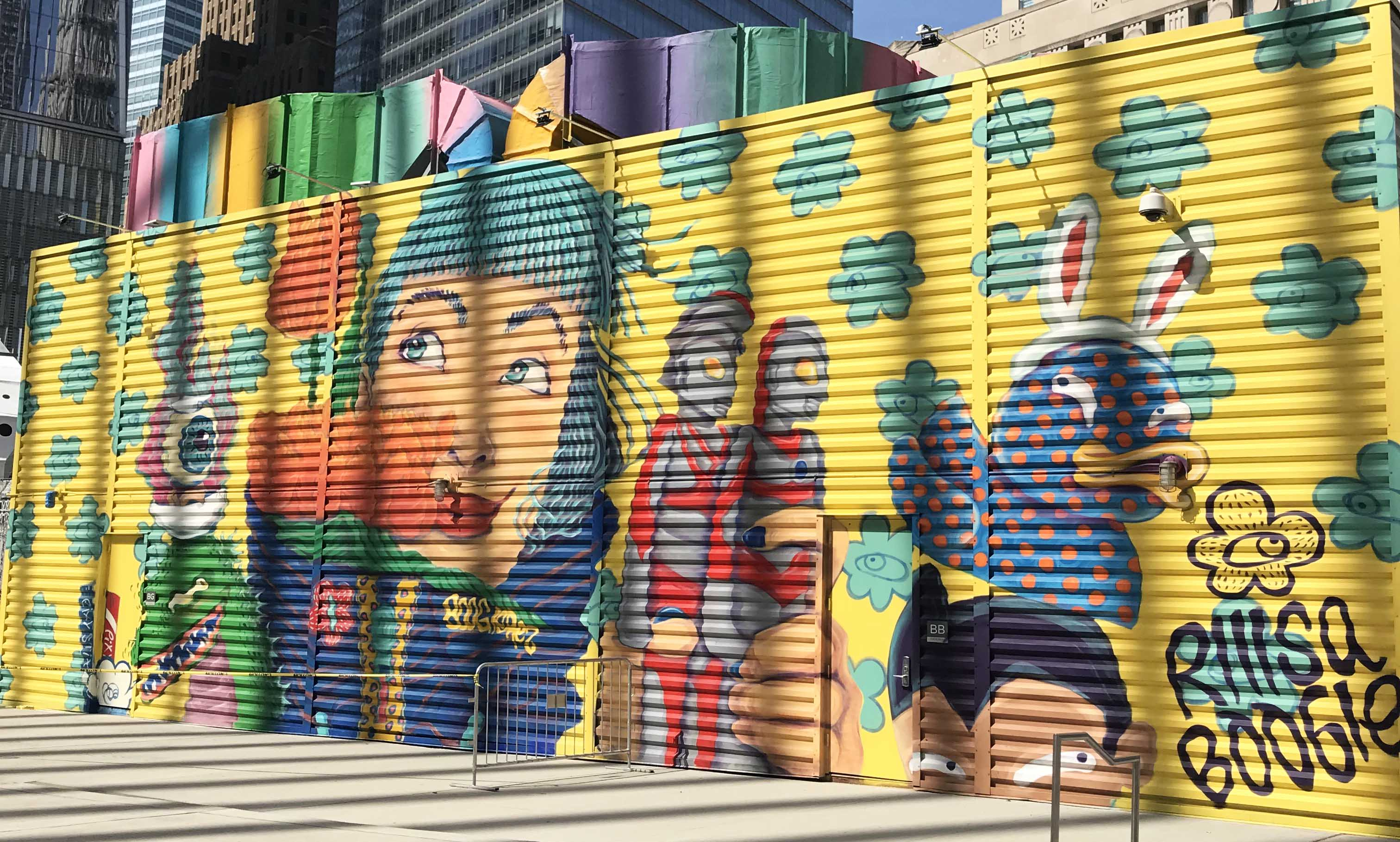 Obsessed with the New Murals at World Trade Center! - New Yorker Tips